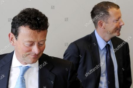 Tony Haywood, Chief Executive Officer of Genel Energy PLC along with Nat Rothschild, Non-Executive Director