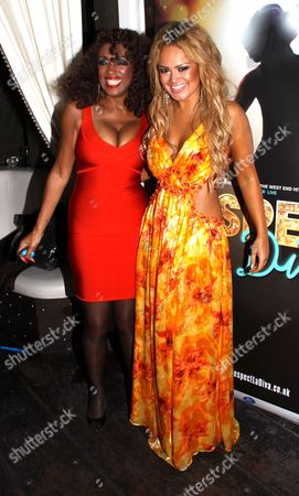 Stock Image of Zoe Birkett and Sheila Ferguson
