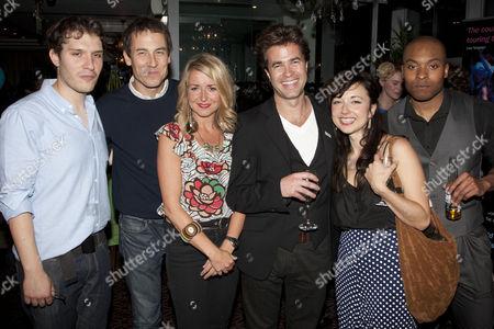 Robert Icke (Associate Director), Tobias Menzies (Cast), Alecky Blythe (Author), Rupert Goold (Director), Leila Crerar (Cast) and Arinze Kene (Cast)