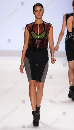 Editorial image of Project Runway Season 9 Finale, during Spring 2012 Mercedes-Benz Fashion Week, New York, America - 09 Sep 2011