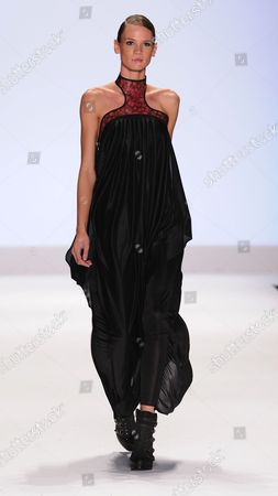 Editorial picture of Project Runway Season 9 Finale, during Spring 2012 Mercedes-Benz Fashion Week, New York, America - 09 Sep 2011
