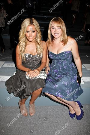 Ashley Tisdale and sister Jennifer Tisdale