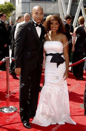 Reagan Gomez-Preston and husband DeWayne Turrentine