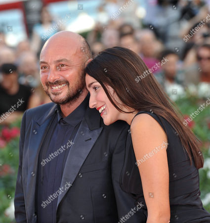 Stock Photo of Emanuele Crialese and guest