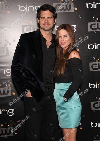 Krisstoffer Polaha and Julianne Morris