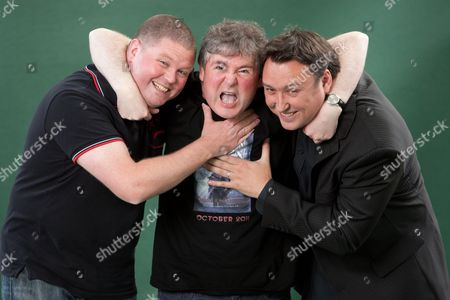 Stock Picture of Alexander Gordon Smith, Darren Shan and Barry Hutchison