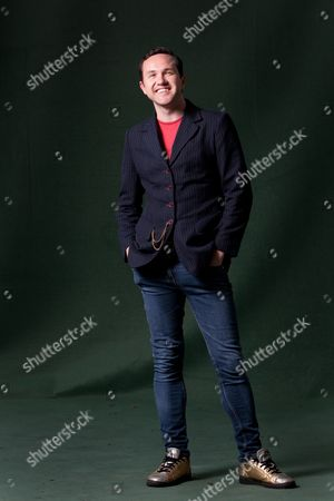 Stock Picture of Alan Bissett, Scottish author of 'Pack Men'