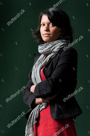 Stock Photo of Anjali Joseph, Indian author of 'Saraswati Park'