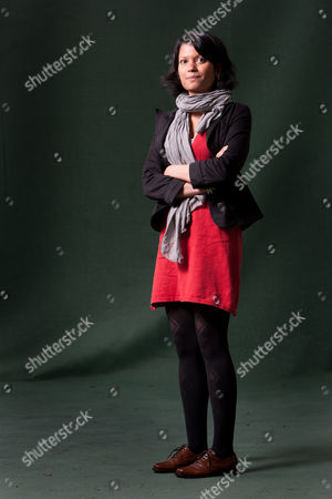 Stock Picture of Anjali Joseph, Indian author of 'Saraswati Park'