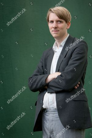 Stock Photo of Owen Hatherley, author of 'Militant Modernism; A Guide to the New Ruins of Great Britain' and 'Uncommon,' about the pop group Pulp