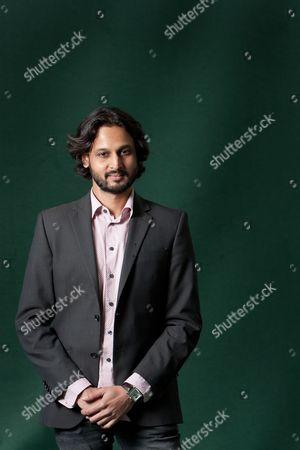 Stock Image of Rahul Bhattacharya, Indian author