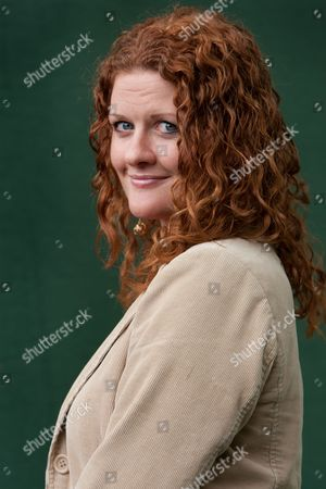 Stock Image of Susan Fletcher, author of 'Corrag'- a story of witchcraft in 1692