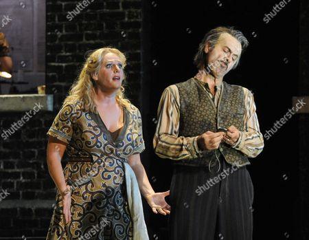 'Il Tabarro' - Lucio Gallo as Michele and Eva-Maria Westbroek as Giorgetta