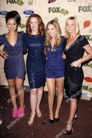 Stock Picture of Aisha Dee, Katie Finneran, Kristi Lauren and Jaime Pressly