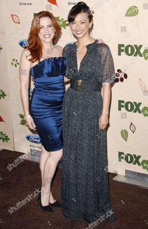 Stock Photo of Christina Pucelli and Joy Osmanski