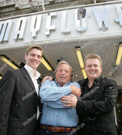 Adam Cooper, Ken Farrington and Aled Jones