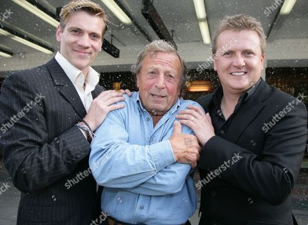 Stock Image of Adam Cooper, Ken Farrington and Aled Jones