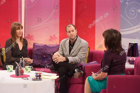 Lucy Cavendish and Noel Biderman with Presenter Lorraine Kelly