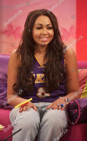 Editorial photo of 'Lorraine Live' TV Programme, London, Britain - 13 Sep 2011