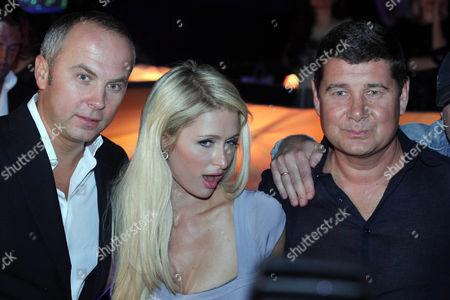 Guest, Paris Hilton and Aleksandr Onishenko