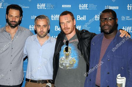 Emile Sherman, Iain Canning, Michael Fassbender and Steve McQueen