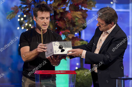 Steve Rowlands and Nick Baker with Alan Titchmarsh