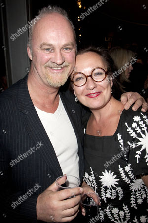 Tim McInnerny and Annie Gosney