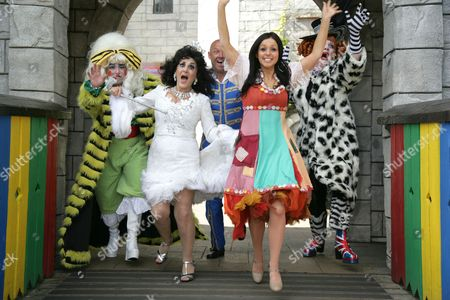 Editorial picture of 'Cinderella' photocall at Legoland, Windsor, Britain - 14 Sep 2011