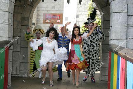 Editorial photo of 'Cinderella' photocall at Legoland, Windsor, Britain - 14 Sep 2011