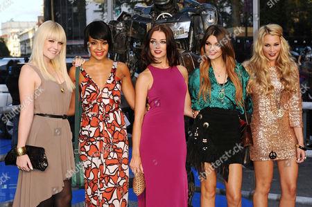 Bianca Claxton, Sian Charlesworth, Jessica Agombar, Lauren Deegan and Emily Biggs - Parade