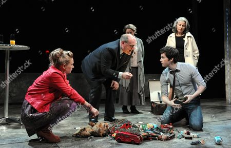 'My City' - Sian Brooke as Julie, David Troughton as Minken, Sorcha Cusack as Summers, Tom Riley as Richard and Tracey Ullman as Lambert