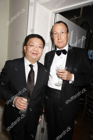 Stock Photo of Anthony Lau and Martin Barrow