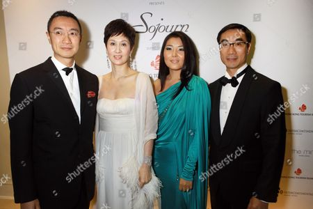 Harry Lee, Michelle Ong, Odkhuu and Michael Lee