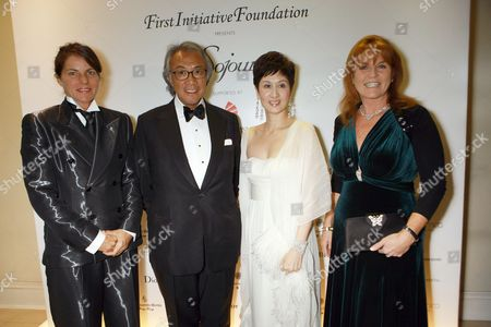 Editorial photo of First Initiative Foundation opening gala celebration of Sojourn, Asia House, London - 14 Sep 2011