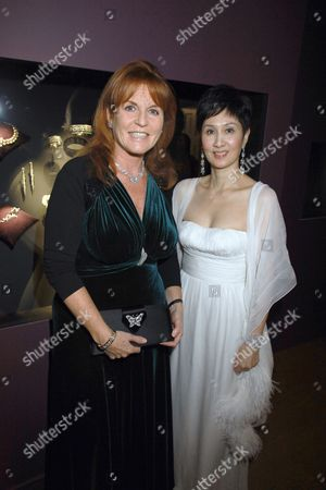 Stock Image of Michelle Ong and Sarah Ferguson Duchess of York
