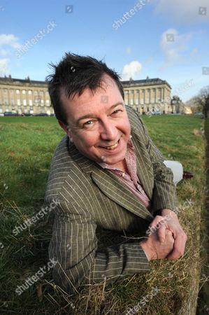 Stuart Maconie at The Royal Crescent, Bath