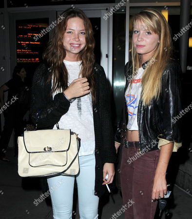 Daveigh Chase and friend