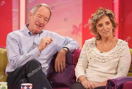Michael Buerk and Claire Bertschinger