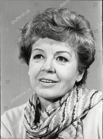 Actress Phyllis Calvert