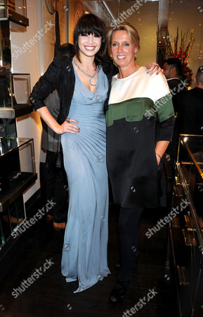 Daisy Lowe and Annoushka Ducas