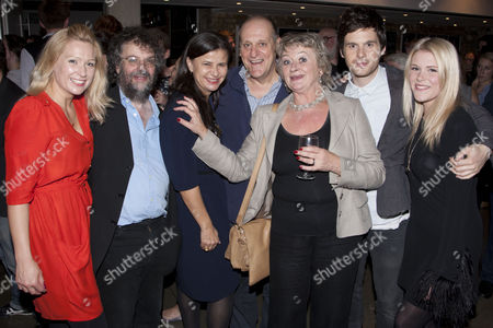 Sian Brooke (Julie), Stephen Poliakoff (Author/Director), Tracey Ullman (Lambert), David Troughton (Minken), Sorcha Cusack (Summers), Tom Riley (Richard) and Hannah Arterton (Waitress)