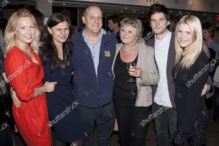 Sian Brooke (Julie), Tracey Ullman (Lambert), David Troughton (Minken), Sorcha Cusack (Summers), Tom Riley (Richard) and Hannah Arterton (Waitress)