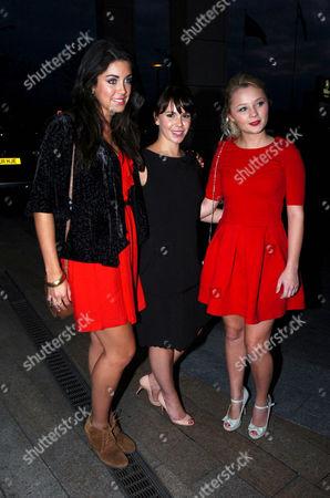 Jorgie Porter, Bianca Hendrickse-Spendlove and Jessica Fox