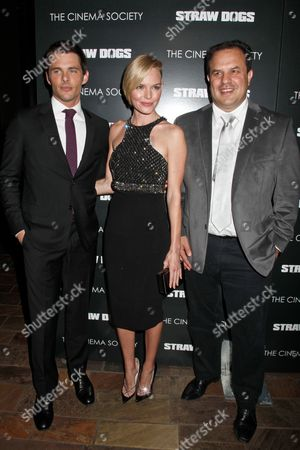 Editorial picture of The Cinema Society Hosts a film screening of 'Straw Dogs', New York, America - 15 Sep 2011