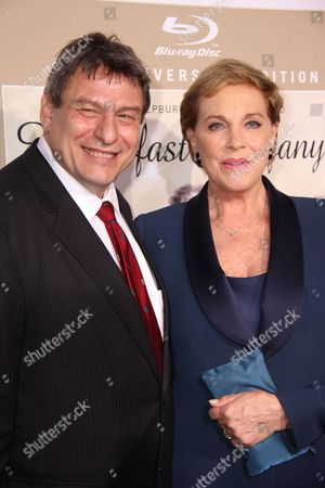 Richard Pena and Julie Andrews