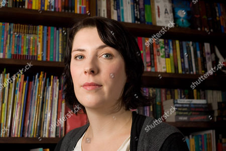 Evie Wyld at the Review bookshop in south west London.