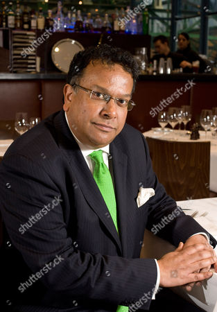 Stock Photo of Iqbal Wahhab at Roast, his resturant in Borough Market, London.