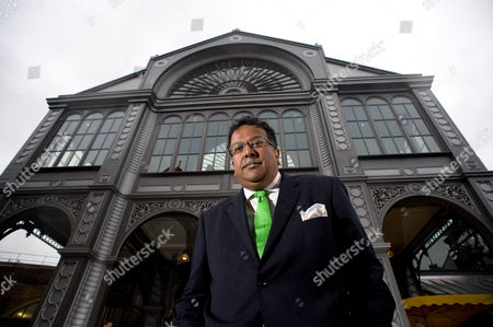 Iqbal Wahhab at Roast, his resturant in Borough Market, London.