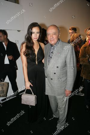 Camilla Al-Fayed and Mohammed Al Fayed