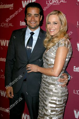 Rich Orosco and Julie Benz